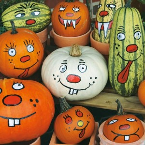 Decorative pumpkins for painting - Kiepenkerl