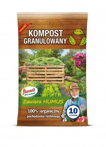 Florovit granulated compost 10 l